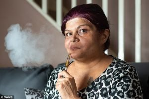 Susan Dhillon, 51, from Slough, Berkshire: Image Source : SWNS