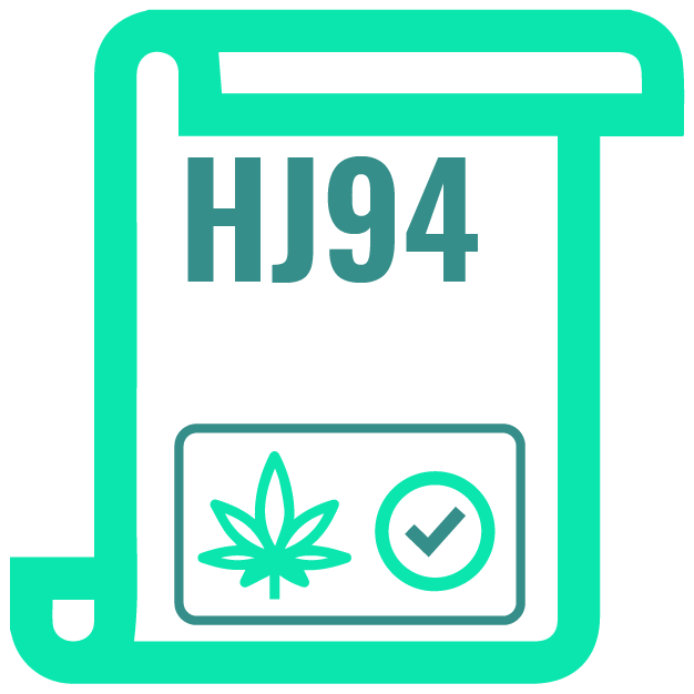 1_ HJ94 that allowed a controlled and experimental cultivation of industrial hemp