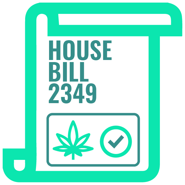 1_House Bill 2349 which states that medical marijuana cannot be possessed or used at educational insti