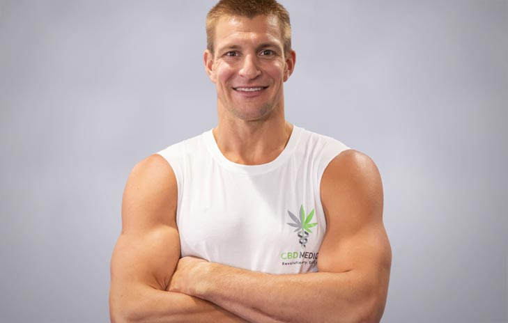 Gronkowski Turns to CBD For His Health - Invests Into CBD Business