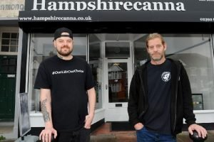 Hampshire Canna partners Sy and Perry