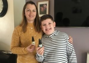 Alfie's mother Victoria has experienced immense relief seeing her son benefit from CBD oil