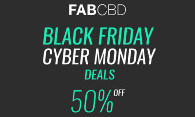 FabCBD Black Friday Cyber Monday 50% off