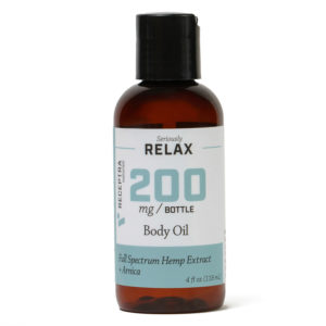 receptra_relax_body_oil_200mg_4oz_bottle_front